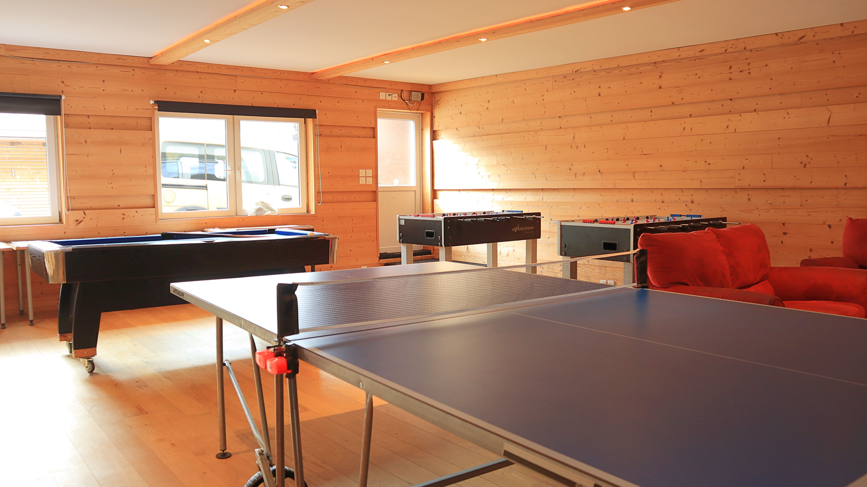 SILC Academy chalet at Switzerland's best winter camp